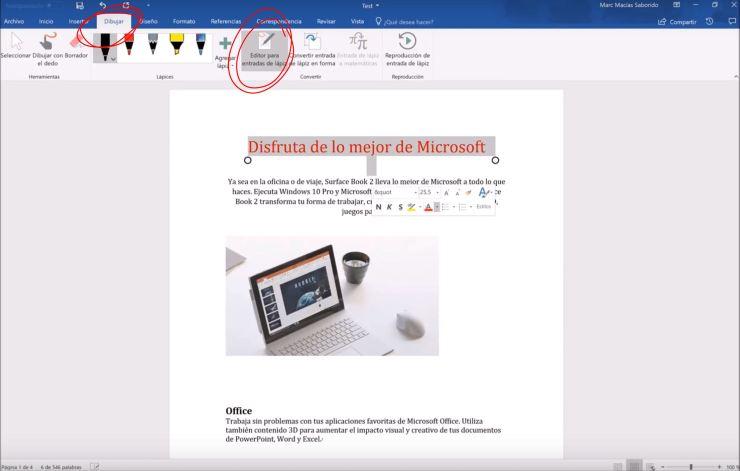 Office Y Su Editor De Texto Word Microsoft Expertos